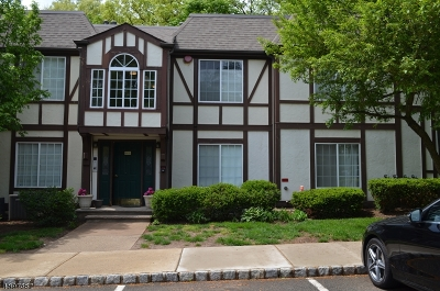Morristown Town Condo/Townhouse For Sale: 118 Village Dr #118