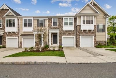 Verona Twp. NJ Condo/Townhouse For Sale: $475,000