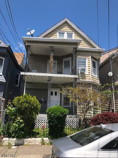 Paterson City Multi Family Home For Sale: 185-187 Fulton Pl