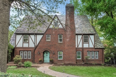 Montclair Twp. Single Family Home For Sale: 101 Undercliff Rd