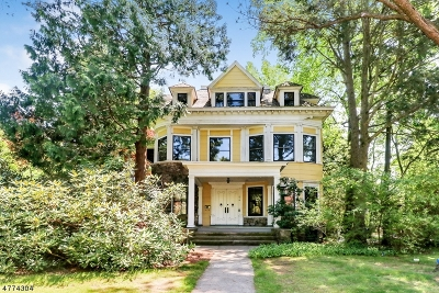 Cranford Twp. Single Family Home For Sale: 218 Prospect Ave