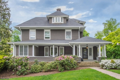 Montclair Twp. Single Family Home For Sale: 152 Gates Ave
