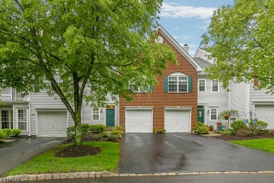 Readington Twp. Condo/Townhouse For Sale: 505 S Branch Dr