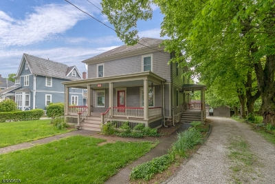 Hunterdon County Single Family Home For Sale: 65 Main Street