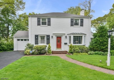 Glen Rock Boro Single Family Home For Sale: 7 Belmont Rd
