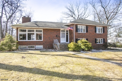 South Orange Village Twp. Single Family Home For Sale: 8 Foster Ct