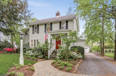Chatham Boro Single Family Home For Sale: 15 Chatham Street