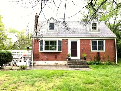 Bridgewater Twp. Single Family Home For Sale: 273 Old York Rd