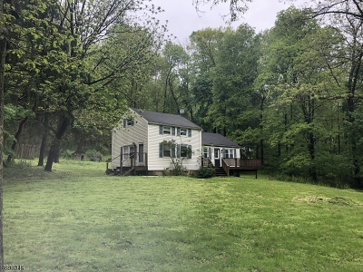 Lebanon Twp. Single Family Home For Sale: 349 Route 513