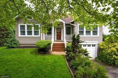 Bernards Twp., Bernardsville Boro Single Family Home For Sale: 8 Cottage St