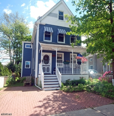 Chatham Boro Single Family Home For Sale: 61 S Passaic Ave