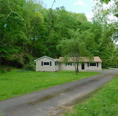 Holland Twp., Milford Boro Single Family Home For Sale: 277 Javes Rd
