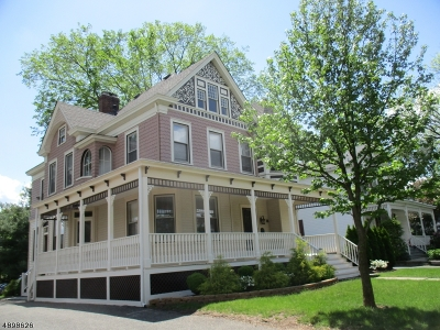 Somerville Boro Single Family Home For Sale: 17 W Cliff St