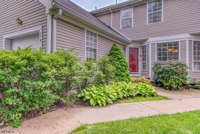Readington Twp. Condo/Townhouse For Sale: 258 Laurel Ct