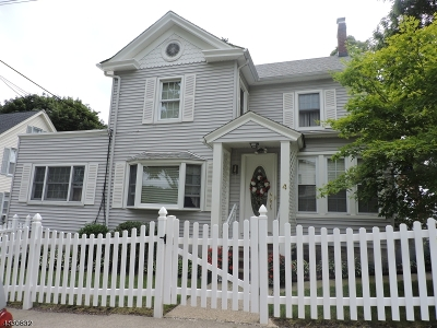 Newton Town Single Family Home For Sale: 4 Townsend St