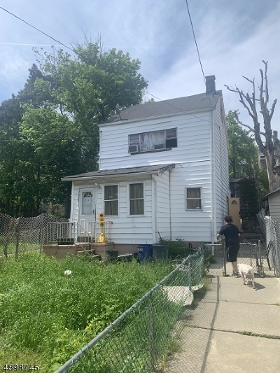 Paterson City Single Family Home For Sale: 163 N 4th St