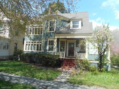 South Orange Village Twp. Single Family Home For Sale: 101 Ward Pl