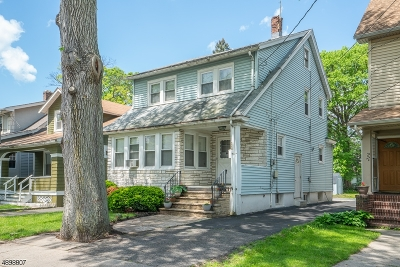 Maplewood Twp. NJ Single Family Home For Sale: $315,000
