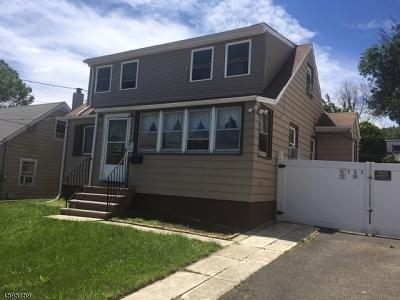Haledon Boro Single Family Home For Sale: 383 Hobart Ave