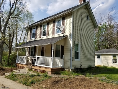 Bloomsbury Boro Single Family Home For Sale: 44 West St