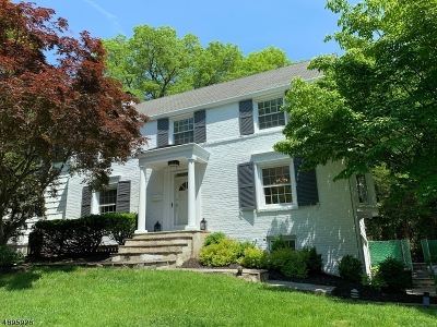 Montclair Twp. Single Family Home For Sale: 17 Kenneth Rd