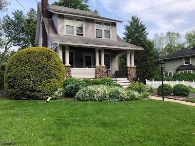 Maplewood Twp. NJ Single Family Home For Sale: $698,000