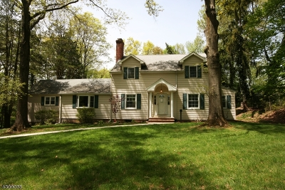 Scotch Plains Twp. Single Family Home For Sale: 1955 Parkwood Dr