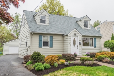 Boonton Town Single Family Home For Sale: 123 Oxford Ave