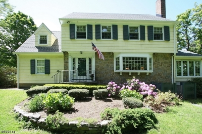 Montclair Twp. Single Family Home For Sale: 51 Dryden Rd