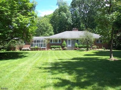 Bernards Twp., Bernardsville Boro Single Family Home For Sale: 112 S Alward Ave