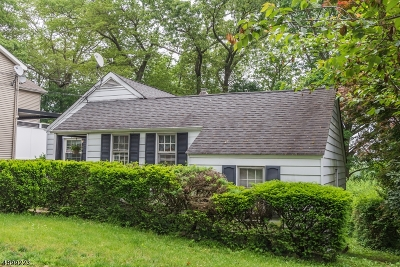 Denville Twp. Single Family Home For Sale: 69 Highland Trl