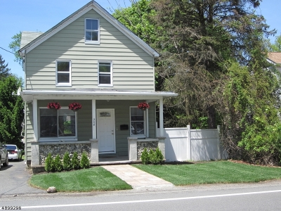 Roxbury Twp. Single Family Home For Sale: 248 Center St