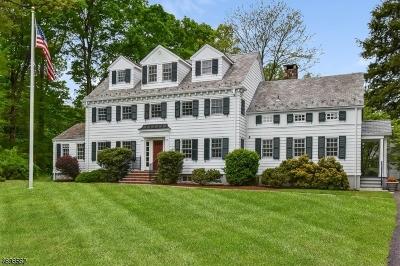 Harding Twp. NJ Single Family Home For Sale: $2,195,000