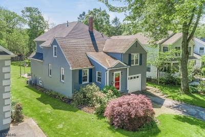 Chatham Boro Single Family Home For Sale: 57 Tallmadge Ave