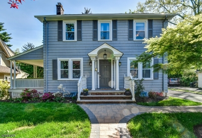 South Orange Village Twp. Single Family Home For Sale: 228 Edgewood Ter