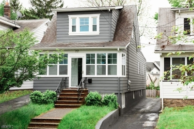 Maplewood Twp. NJ Single Family Home For Sale: $485,000