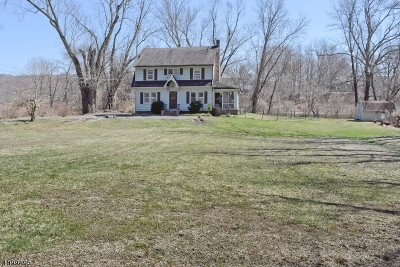 Boonton Twp. Single Family Home For Sale: 395 Rockaway Valley Rd