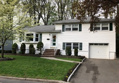 Cranford Twp. Single Family Home For Sale: 39 Wadsworth Ter