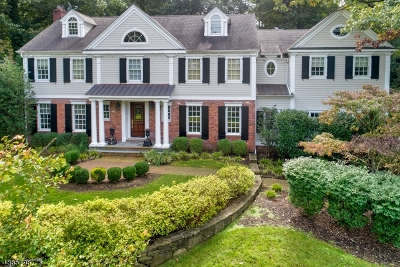 Millburn Twp. Single Family Home For Sale: 13 Tioga Pass