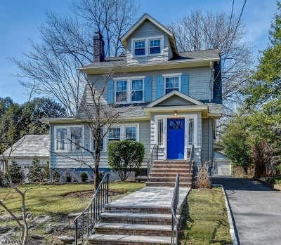 Maplewood Twp. NJ Single Family Home For Sale: $575,000