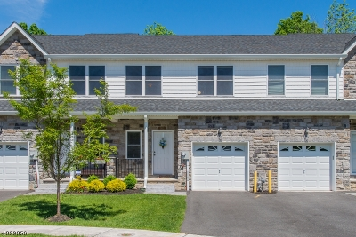 Parsippany Condo/Townhouse For Sale: 42 Decroce Ct