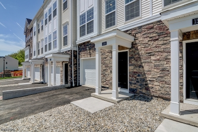 Branchburg Twp. Condo/Townhouse For Sale: 209 Emerald Drive