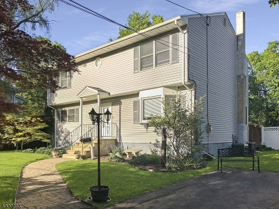 Long Hill Twp Single Family Home For Sale: 357 Passaic Ave