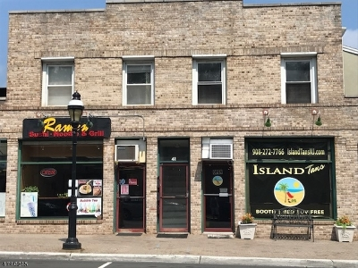 Cranford Twp. Rental For Rent: 41 North Ave East