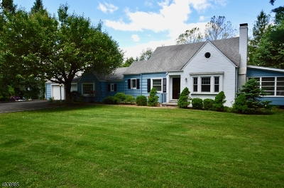Chatham Twp Single Family Home For Sale: 26 Meyersville Rd