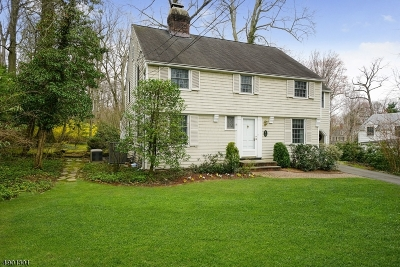 Chatham Boro Single Family Home For Sale: 29 Greenwood Ave