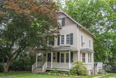 Morristown Single Family Home For Sale: 87 Mills St