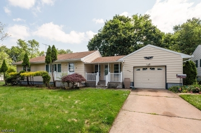 Somerset Single Family Home For Sale: 39 Highland Ave