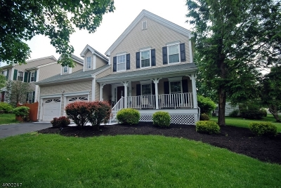 Branchburg Twp. Single Family Home For Sale: 17 Strawberry Hill Rd