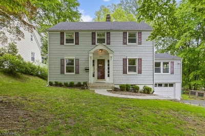 Morristown Single Family Home For Sale: 15 Wisteria Ter